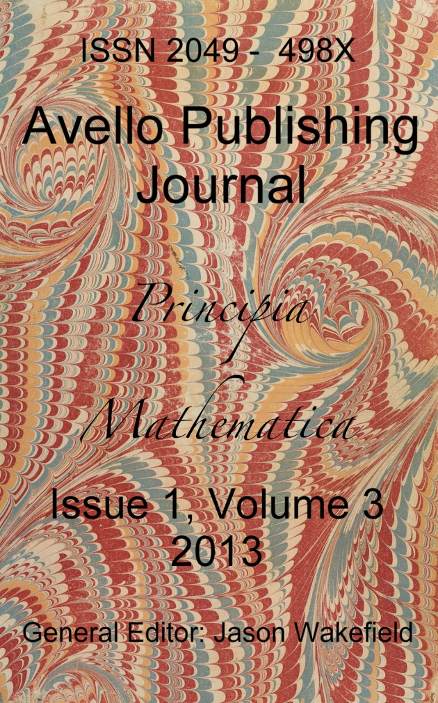 Issue 1, Volume 3