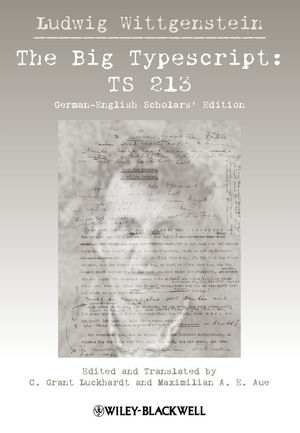 Ludwig Wittgenstein: TS 213 The Big Typescript